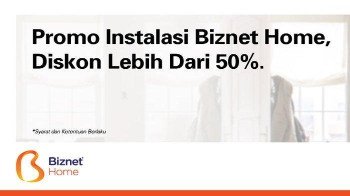 Promo Internet Biznet Biaya Instalasi Cuma Rp 250.000 dan Sewa Rp 50.000/bulan, Berikut Syaratnya
