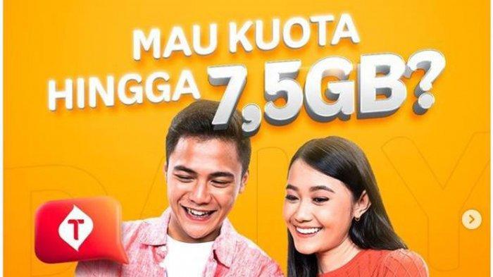 Promo Kuota Internet Gratis Telkomsel hingga 7,5 GB, Caranya Cukup dengan Login di MyTelkomsel