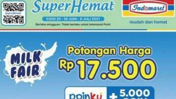 Promo Milk Fair Indomaret