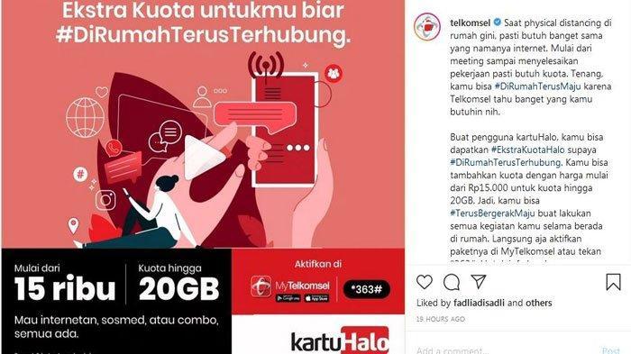 Promo Telkomsel Paket Internet Murah Kuota hingga 40 GB, Berikut Cara Mengaktifkan dan Syaratnya