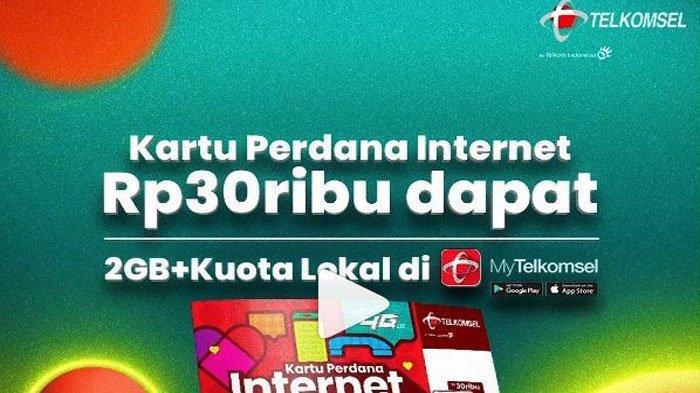 Promo Telkomsel Terbaru Hari ini 8 Juli 2020: Ada Kartu Perdana Internet Murah Cuma Rp 30 Ribuan