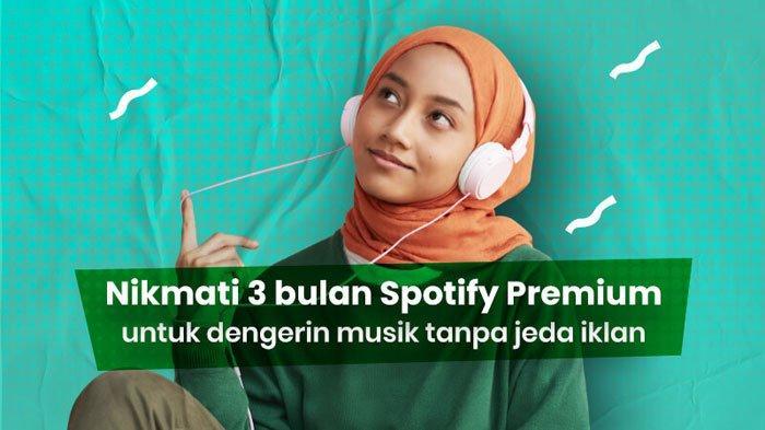 Cara Beli Kuota Telkomsel untuk Spotify Premium Gratis 3 Bulan, Internet Murah 33 GB Cuma Rp 15 Ribu
