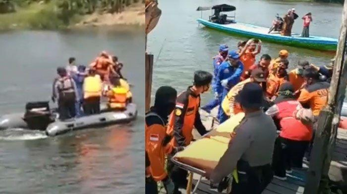 VIDEO Jasad Pria Korban PHK Terapung di Sungai Bengawan Solo setelah Loncat dari Jembatan Sembayat