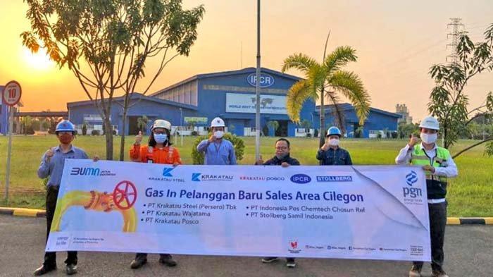 PGN Alirkan Gas ke Lima Pelanggan Industri Sektor Baja