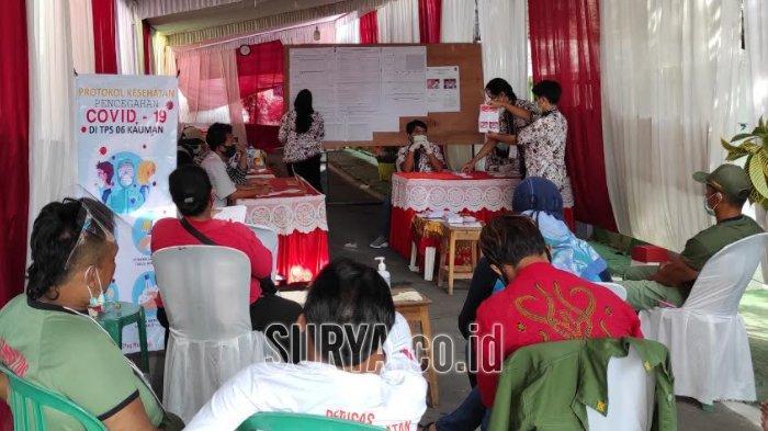 Hasil Rekapitulasi Pilwali di Desk Pilkada Kota Blitar 2020, Pasangan Santoso-Tjutjuk Unggul