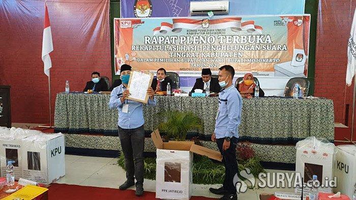 Hasil Real Count KPU, Ikfina Fahmawati-Muhammad Al Barra Unggul di Pilkada Mojokerto 2020