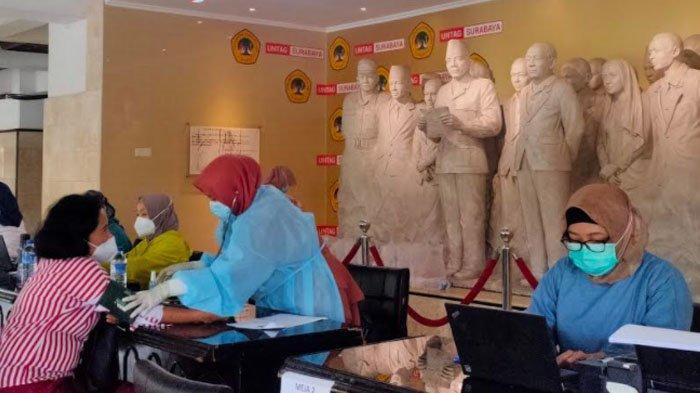 Lebih Terkoordinir, Vaksinasi Dosen dan Karyawan Untag Surabaya Dialihkan ke Kampus