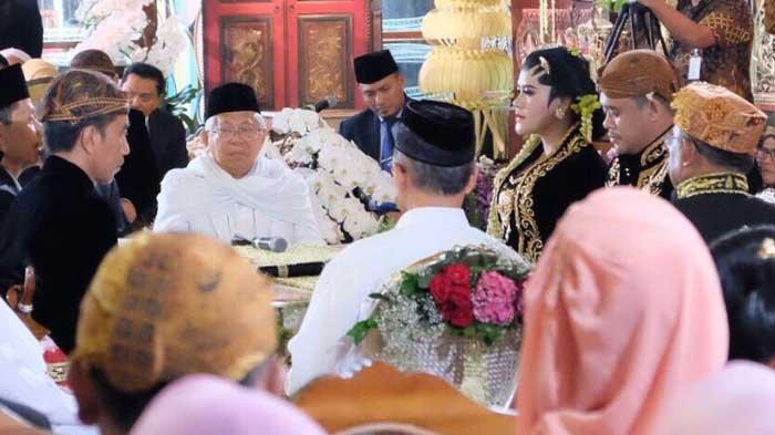 Sah! Kahiyang Ayu Resmi Jadi Istri Bobby, Begini Ungkapan Kelegaan Jokowi Setelah Prosesi Akad Nikah