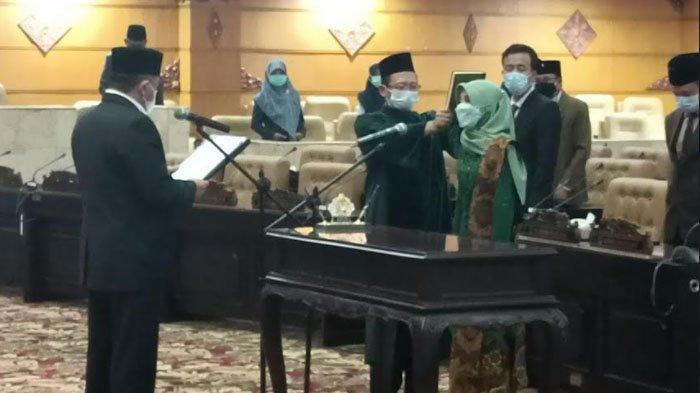 Sekretaris Muslimat NU Trenggalek Resmi Gantikan KH Kusni di DPRD Jatim