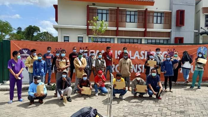 Wisuda Kedua Rumah Isolasi OTG Bangkalan: 27 Pasien Covid 19 kembali Sembuh