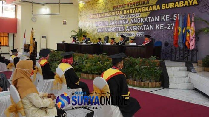 Universitas Bhayangkara Surabaya Gelar Wisuda Daring yang Pertama