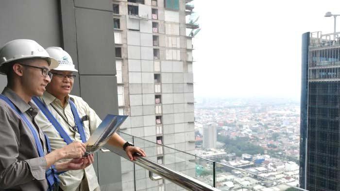 Ditandai Topping off Office Tower, Superblok CWS Ditarget Selesai Akhir Tahun ini
