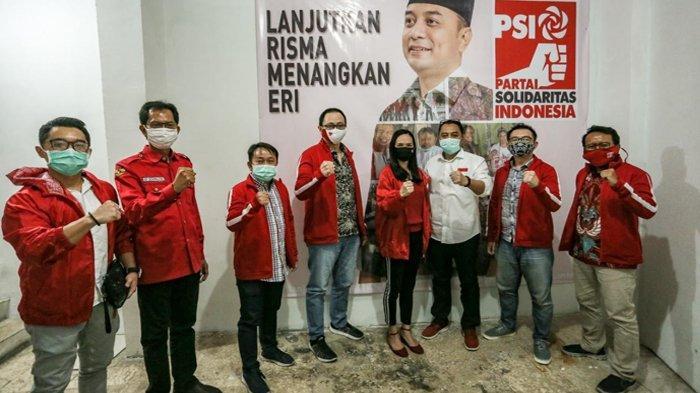 Tim 20 Bentukan PSI Perkuat Tim Pemenangan Eri-Armuji di Pilkada Surabaya
