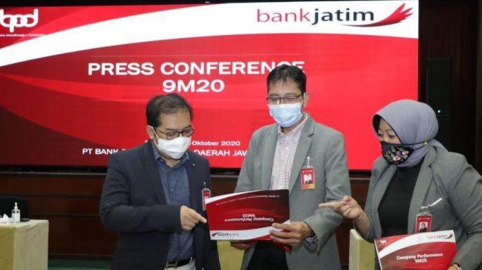 Fokus Mendukung Pemulihan Ekonomi, Laba Bersih Bank Jatim Capai Rp 1,1 Triliun