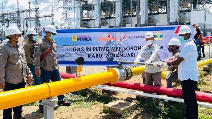 PT Perta Daya Gas Alirkan Gas Perdana ke PLTMG Sorong Papua Barat
