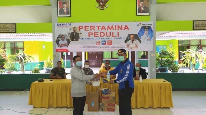 Cegah Corona, Pertamina Bagikan 10 Ribu Masker di Wilayah Operasional Kilang Minyak Tuban