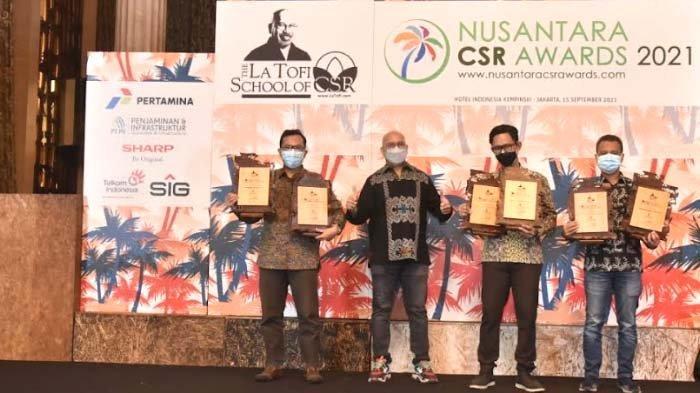 Sukses Berdayakan Masyarakat, PLN Raih 6 Penghargaan Nusantara CSR Awards 2021