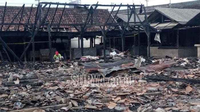 Bantuan untuk Pedagang Pasar Campurdarat Kabupaten Tulungagung yang Terbakar Belum Diputuskan