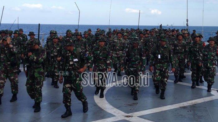 Kehebatan Marinir TNI AL Terlibat Perang Sengit di Perairan Indonesia, Ini Kronologi Latihannya