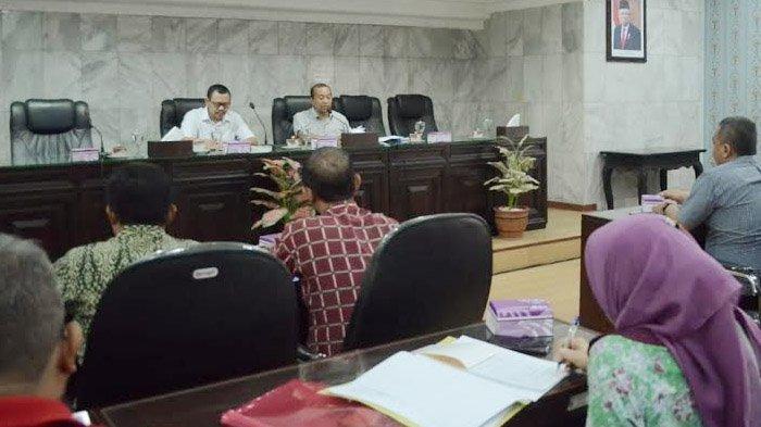 Rapat Gugus Tugas Covid-19 Pemkab Mojokerto, Imbau Masyarakat Waspada dan Tak Panik