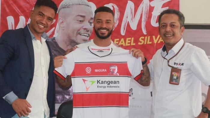 Profil Rafael Silva. Pencetak Gol Madura United ke Gawang PSM, Pindah-pindah Klub di 8 Negara