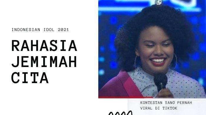 Rahasia Jemimah Cita Sebelum Naik Panggung Indonesian Idol 2021, Pantas Dipuji dan Viral di TikTok