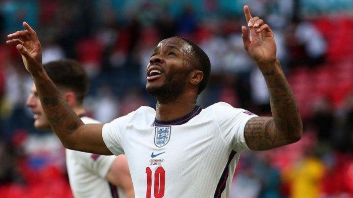 Hasil Skor Ceko vs Inggris 0-1: Raheem Sterling Antar The Three Lions Jadi Juara Grup D Euro 2020