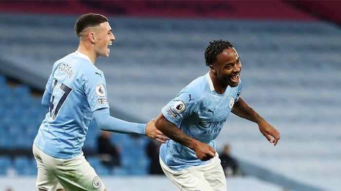 Hasil Man City vs Arsenal, Skor Akhir 1-0, Raheem Sterling Jadi Pahlawan dengan Gol Semata Wayangnya