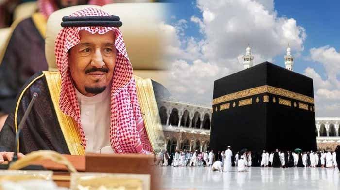 Raja Salman dan suasa kabah.