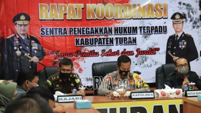 Gakkumdu Pilbup Tuban 2020 : Tiga Paslon Harus Sportif untuk Hindari Efek Hukum