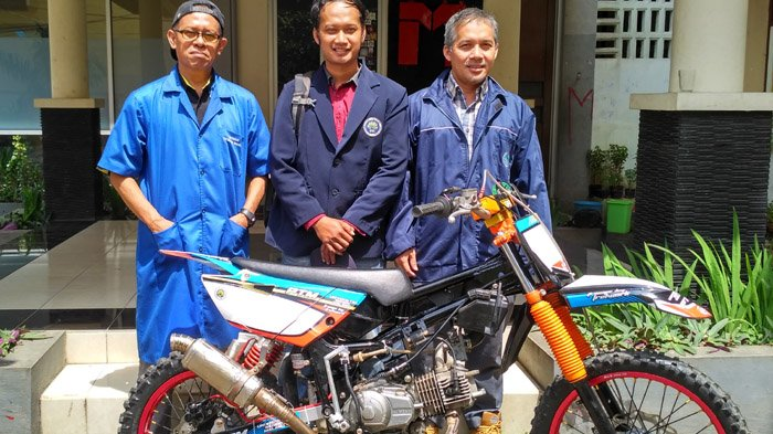 Menjajal Kokohnya Rangka Motor Trail Kreasi Mahasiswa Mesin UM
