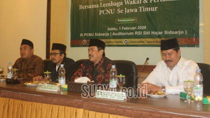 Di Jawa Timur, PCNU Sidoarjo Paling Banyak Sertifikatkan Tanah