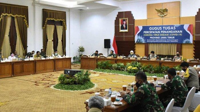 Forkopimda Jatim Sepakat PSBB Surabaya Raya Berakhir dan Masuki Transisi Menuju New Normal Life