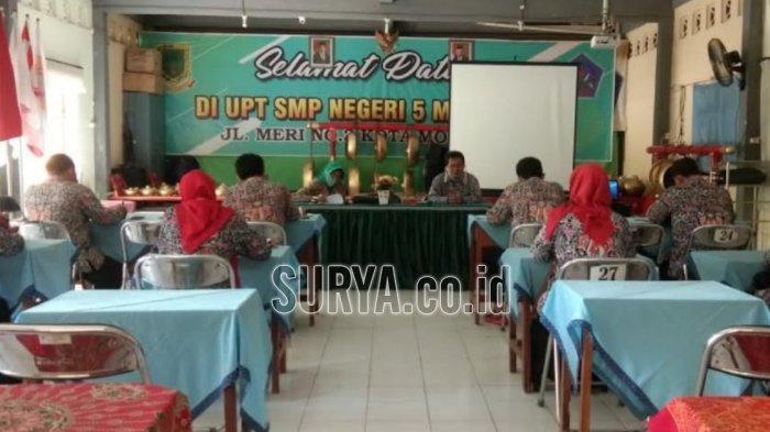 Seperti Ini Juknis Kolaborasi Pembelajaran Daring-Tatap Muka di SMP Negeri Kota Mojokerto