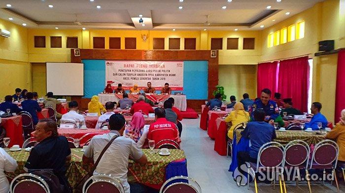Cegah Penularan Covid-19, KPU Ngawi Atur Waktu Kedatangan Pemilih ke TPS,