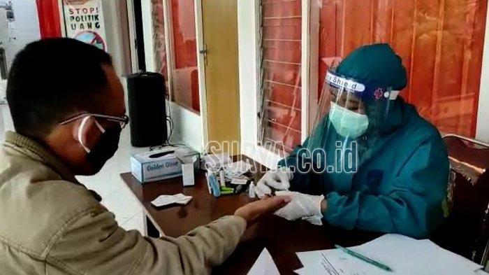 Hasil Rapid Test Reaktif, 18 Anggota Pengawas TPS Bawaslu Kabupaten Kediri Mengundurkan Diri