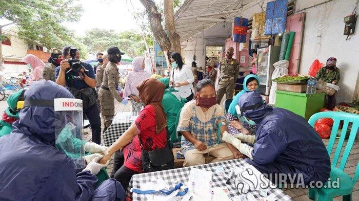 Rapid Test Massal di 9 Pasar dan Pusat Belanja di Banyuwangi, Enam Orang Ditemukan Reaktif