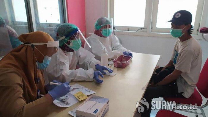 RSUD dr Soegiri Lamongan Beri Layanan Rapid Test Gratis Camaba dari Keluarga Kurang Mampu untuk UTBK