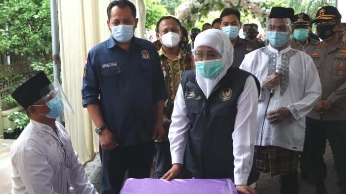 Cegah Penyebaran Covid -19 di Pilkada Serentak, Gubernur Khofifah Pastikan Petugas KPPS Nonreaktif