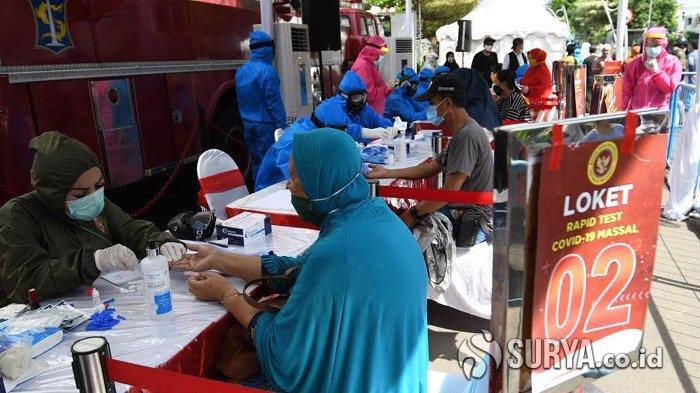 Pemkot Gandeng BIN RI Gelar Rapid Test Massal dan Swab Test Warga Surabaya Secara Gratis