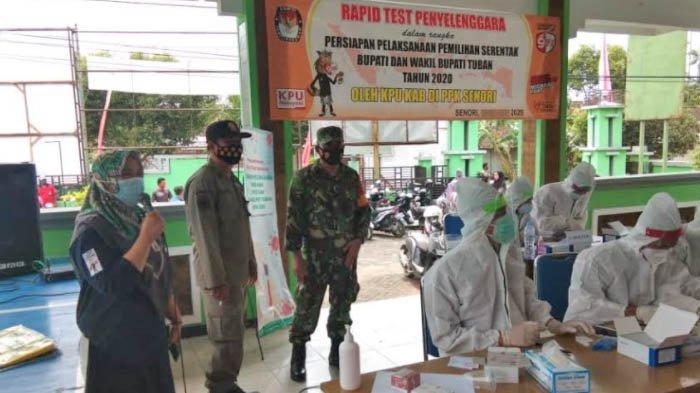 Rapid Test Massal Penyelenggara Pemilu Dilakukan Sepekan, KPU Tuban: Jika Tak Mau akan Diganti