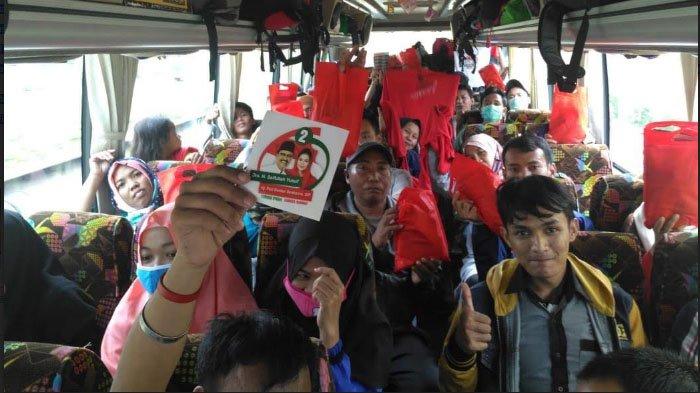 Ratusan Mahasiswa Tuban se-Jabodetabek Mudik Bareng PDI Perjuangan, Bawa Stiker Gusti