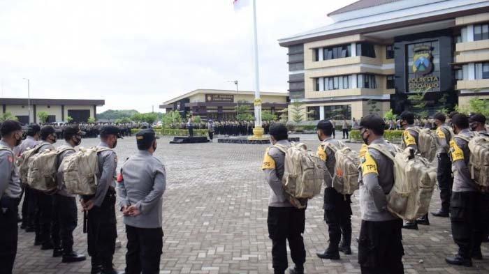 Polisi 715 Personel Jaga Pemungutan Suara Pilkada Sidoarjo 2020