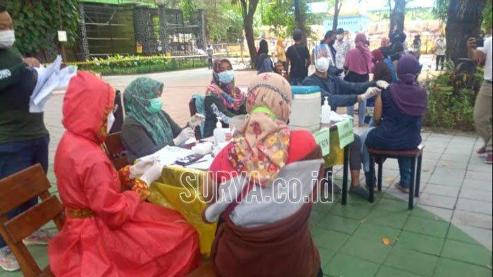 1.500 Dosis Vaksin Covid-19 untuk Warga Ber-KTP Surabaya, Pelaksanaannya di KBS