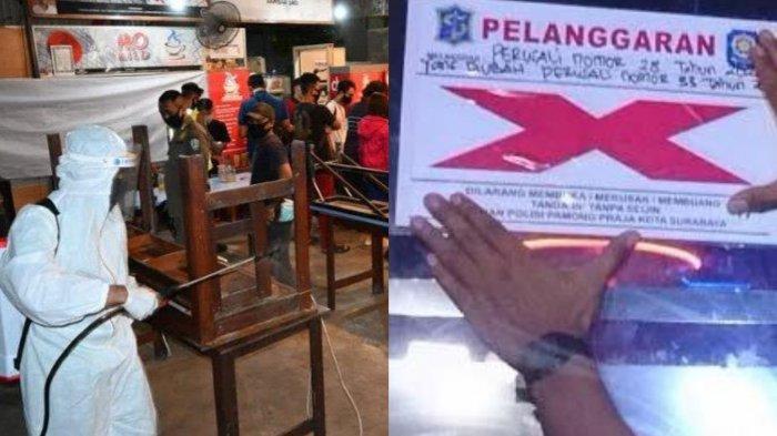 Langgar Jam Malam Surabaya Siap-siap Dapat Hukuman, Warkop dan Karaoke Ditutup, Ini 5 Faktanya