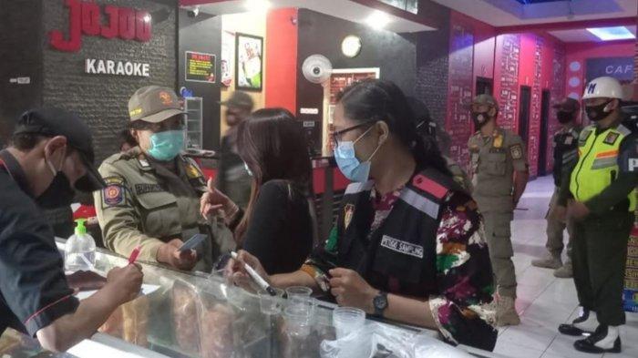 Razia Jelang Ramadan 2021, Petugas Gabungan Kota Blitar Gelar Razia di Tempat Karaoke