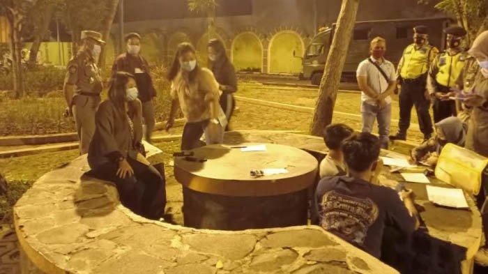 Razia PPKM Tuban, Petugas Gabungan Temukan Ratusan Pelanggar Protokol Kesehatan