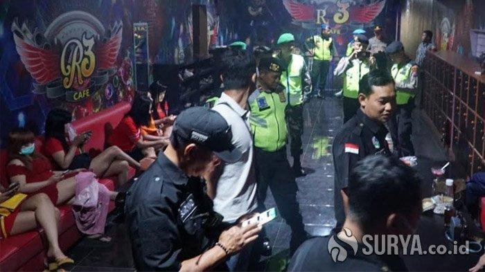 Obok-obok Tempat Hiburan di Blitar, Petugas Sita Miras Serta Temukan Kafe dan Karaoke Tak Berizin