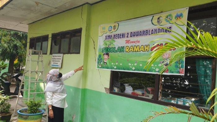 Rehabilitasi SMPN 2 Dawarblandong Kabupaten Mojokerto DAK Fisik Tembus Rp 2,7 Miliar