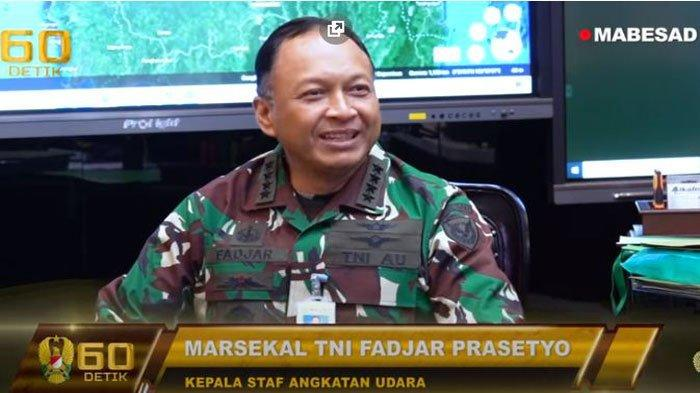Marsekal TNI Fadjar Prasetyo saat mengunjungi Jenderal Andika Perkasa di Mabes AD. Profil, biodata, dan rekam jejaknya ada di artikel ini